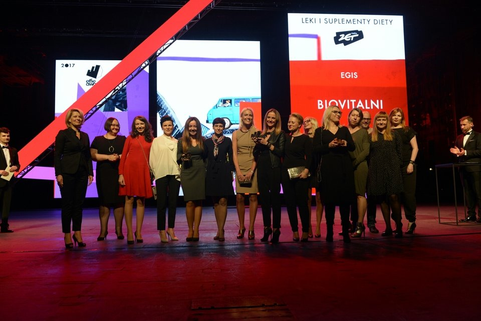 Zwycięski team - EGIS Polska, Opus B, Garaż, Media Group<br>