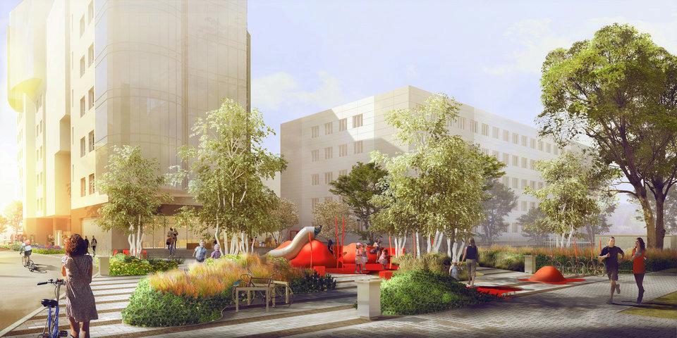 Zielone Miejsca Spotkań - Adgar Plaza