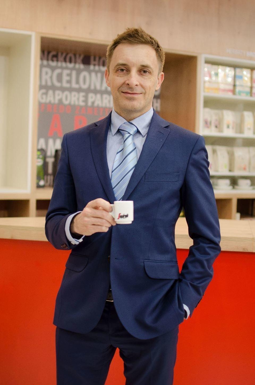Wojciech Serafin, dyrektor handlowy ds. HoReCa Segafredo Zanetti Poland