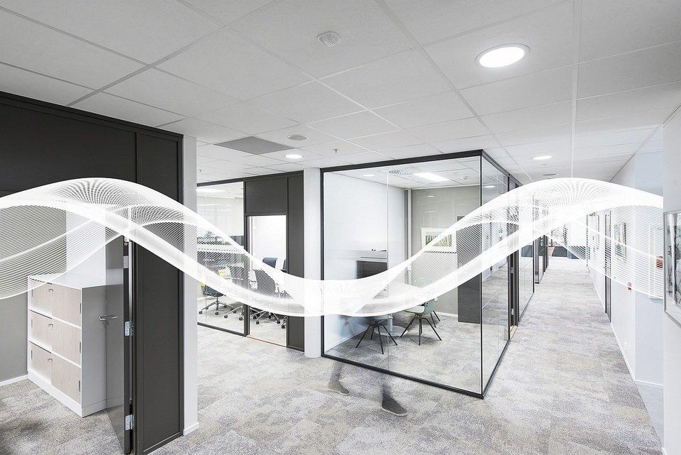 Produkty z linii dB zapewniają optymalną akustykę w biurze