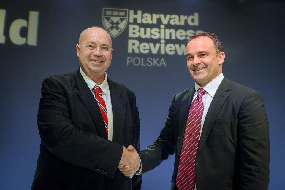 dr Witold Jankowski oraz John DeSarbo<br>