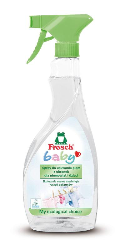 FROSCH BABY SPRAY DO ODPLAMIANIA UBRANEK 500 ML.jpg