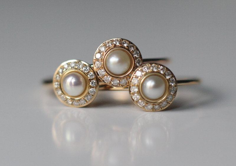 pearl and diamond wedding rings.JPG