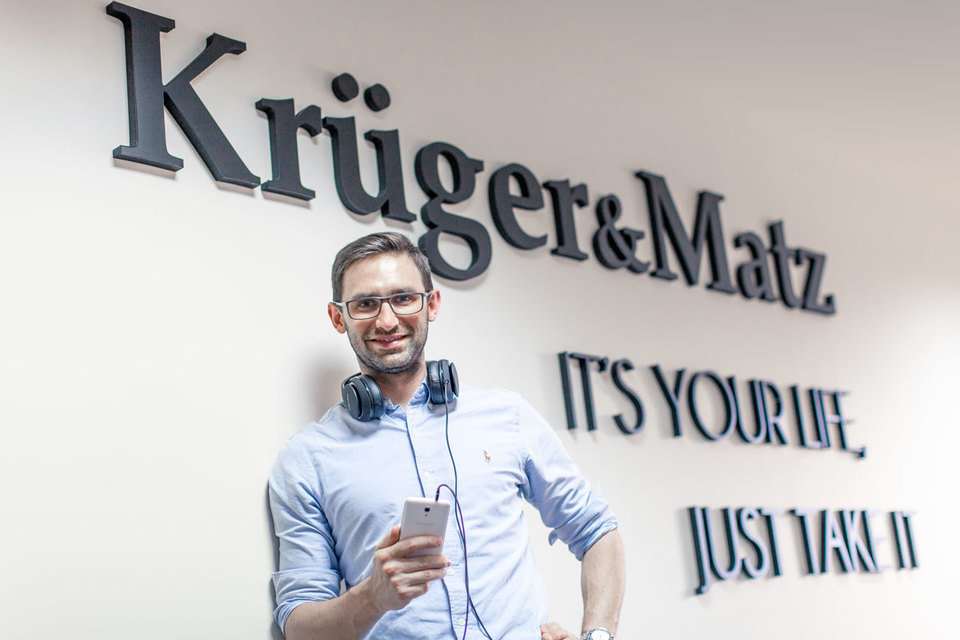 Michał Leszek, twórca marki Kruger&Matz<br>