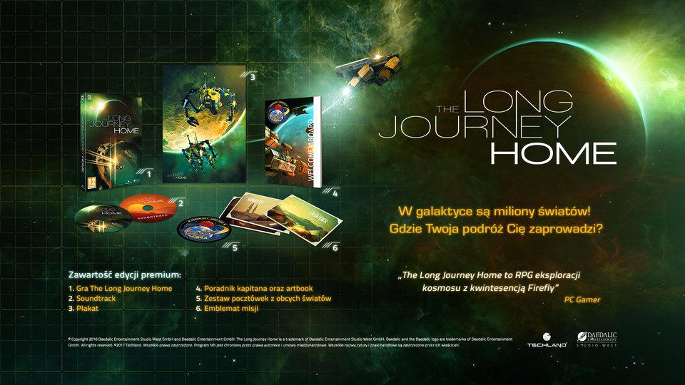 The Long Journey Home - polskie wydanie premium