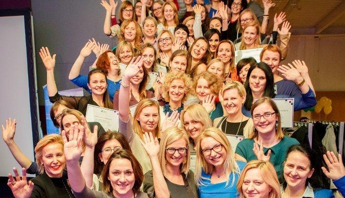 Uczestniczki programy Biznes w Kobiecych Rękach