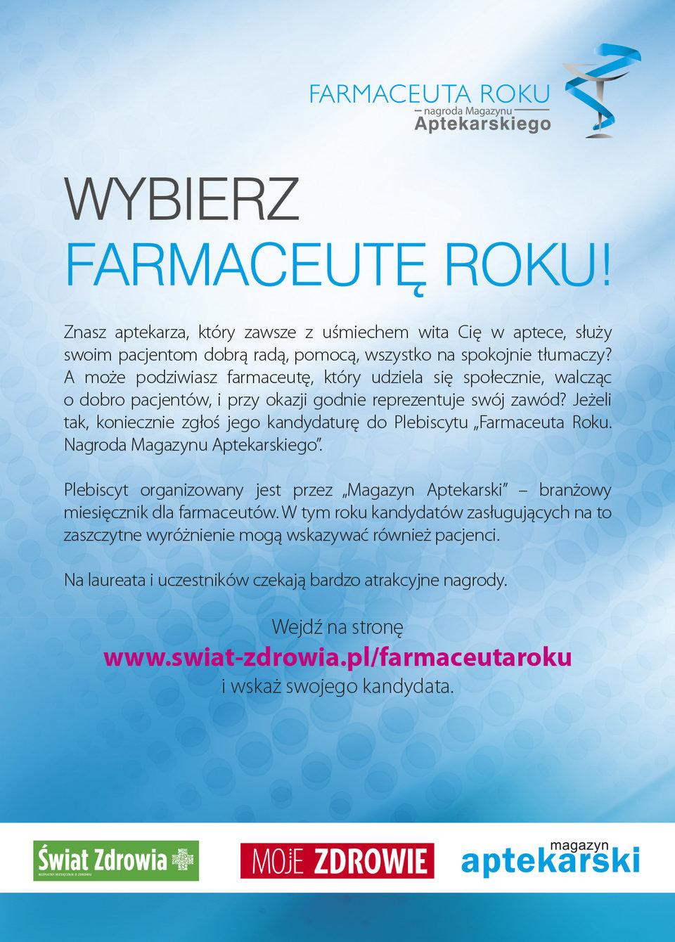 Farmaceuta Roku<br>