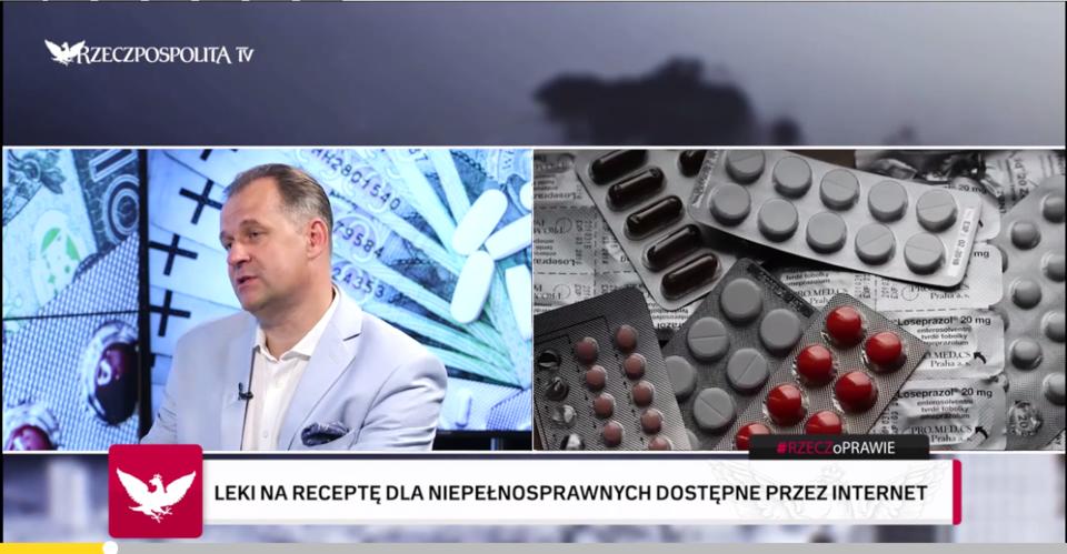 Marek Tomków o wysyłkowej sprzedaży leków rx<br>