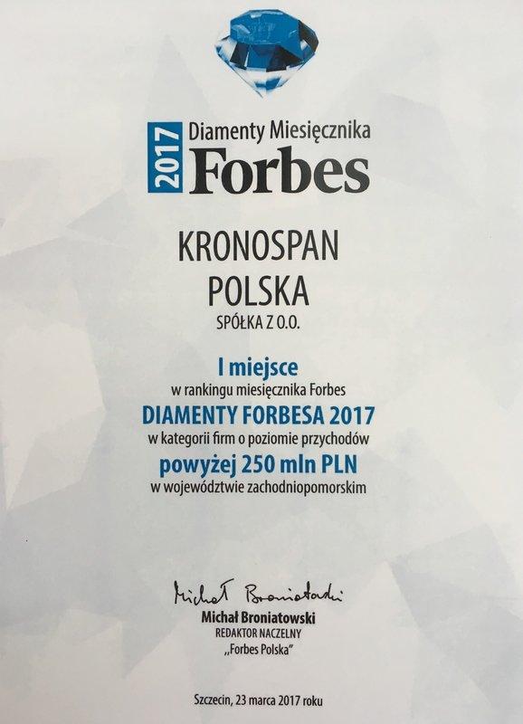 Diament_Forbesa_dla_Kronospan_certyfikat.JPG