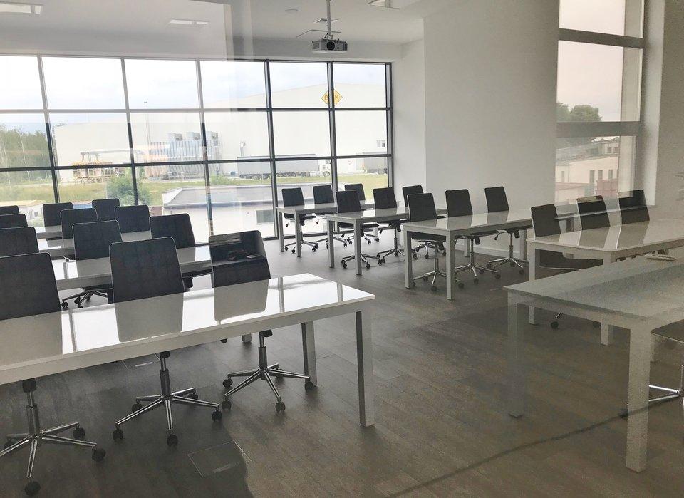 Jedna z sal szkoleniowych w Centrum Badawczo - Rozwojowym