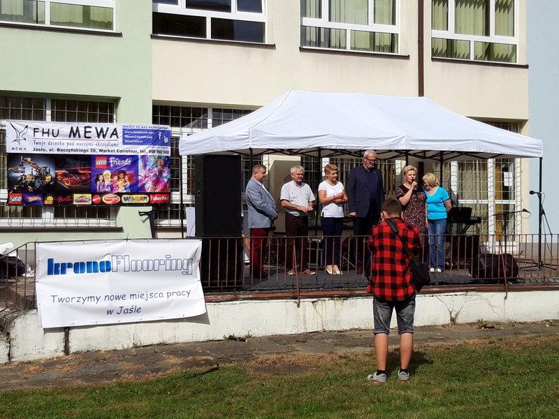 Kronoflooring LVT z Jasła był jednym ze sponsorów pikniku.