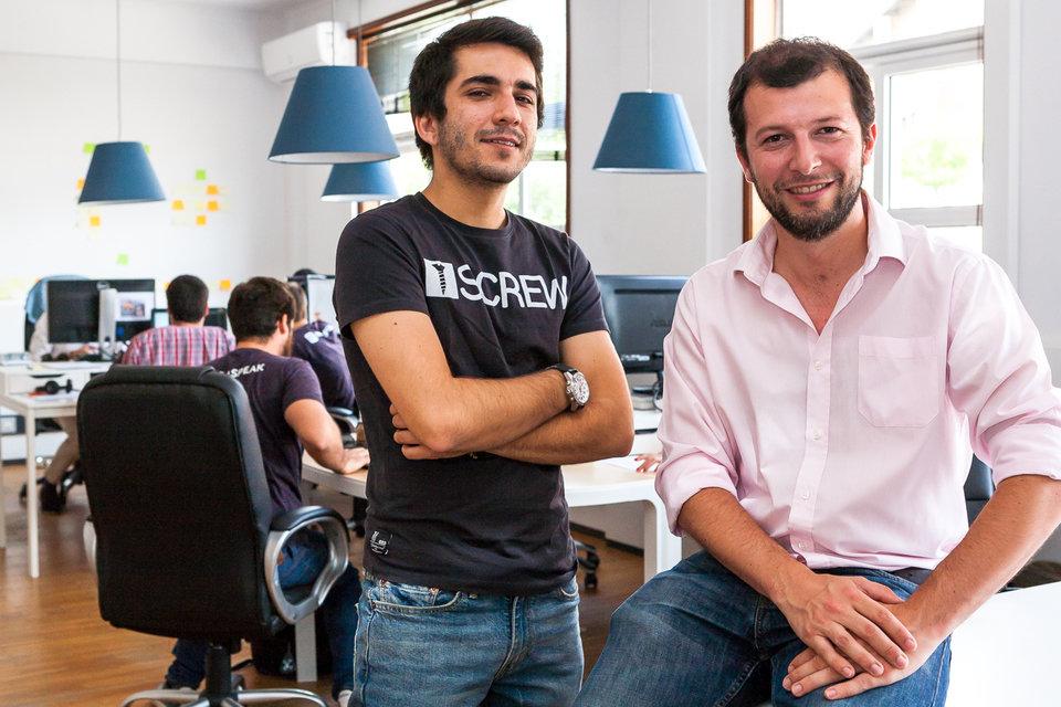 Założyciele Infraspeak - Luís Martins oraz Felipe Avila da Costa