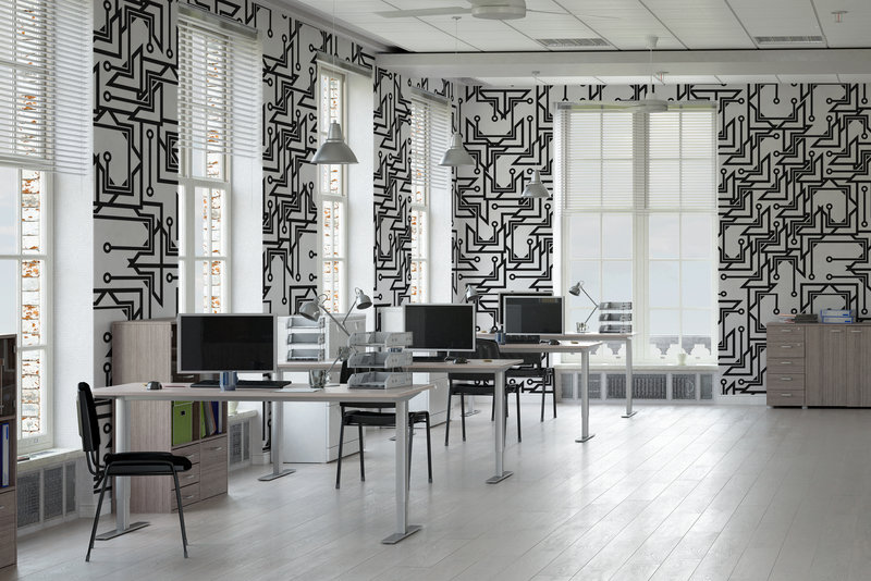 Simple office interior by Pixers your business