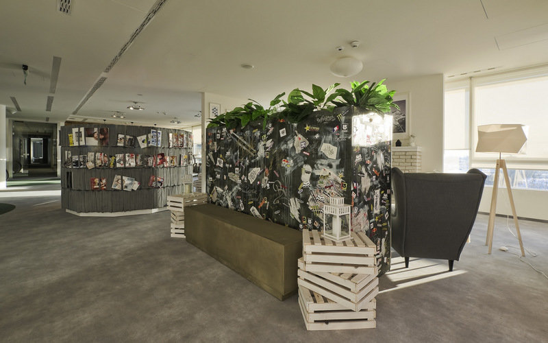 An adapted nook in the T-Mobile office in Warsaw