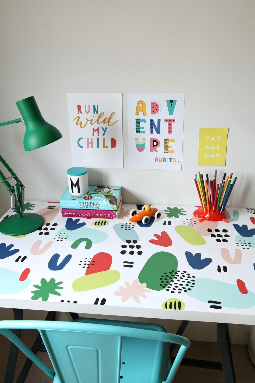 Friendly kids working space made&nbsp;by:&nbsp;@littlebigbell.<br>Source: https://www.instagram.com/littlebigbell/