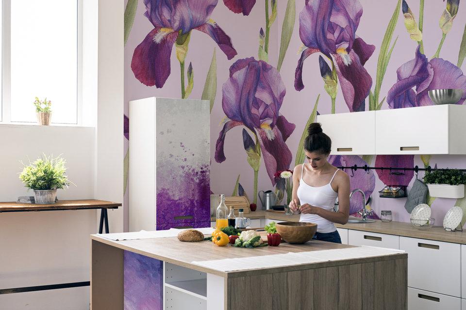 Ultra Violet irises