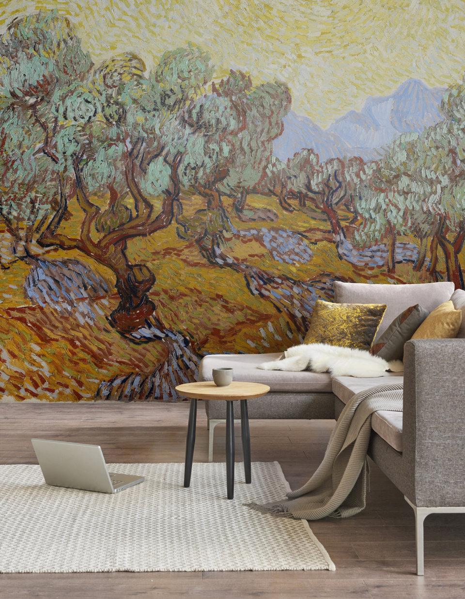 Vincent Van Gogh, Olive garden