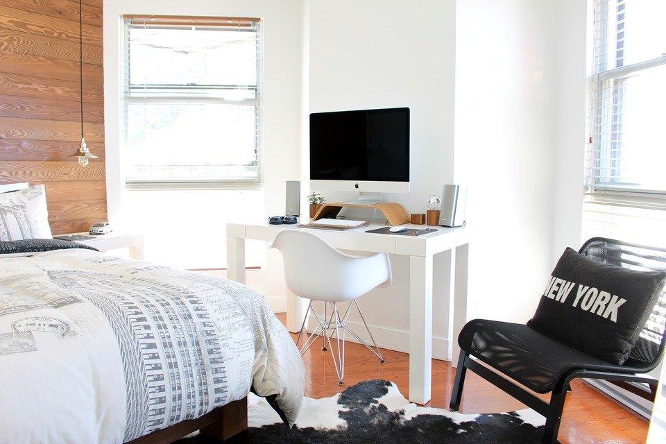 Sypialnia w stylu skandynawskim<br><br>