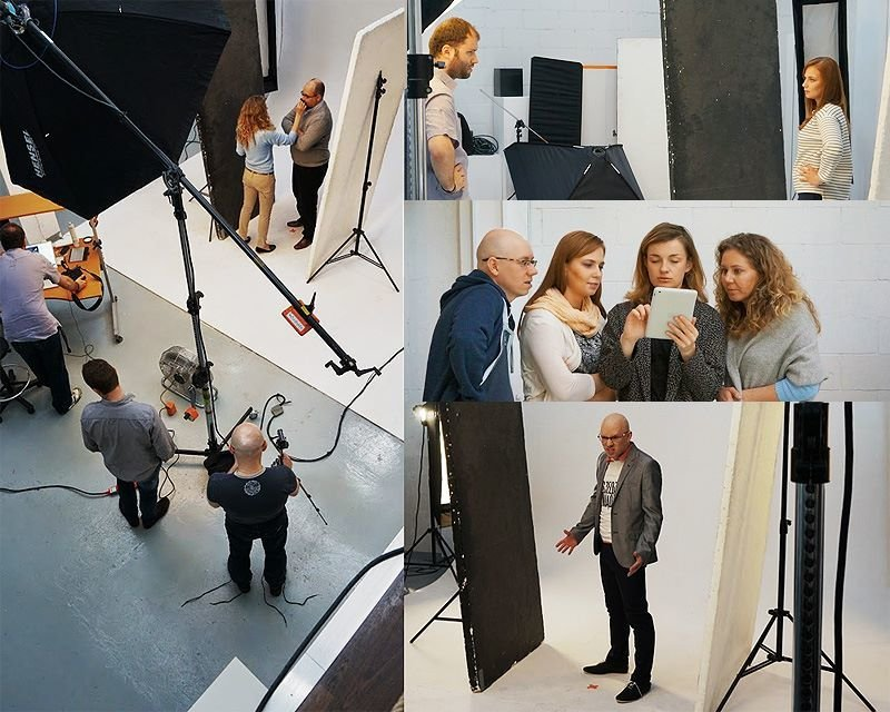 Photo session with two famous polish financial bloggers we organized for a campaign.