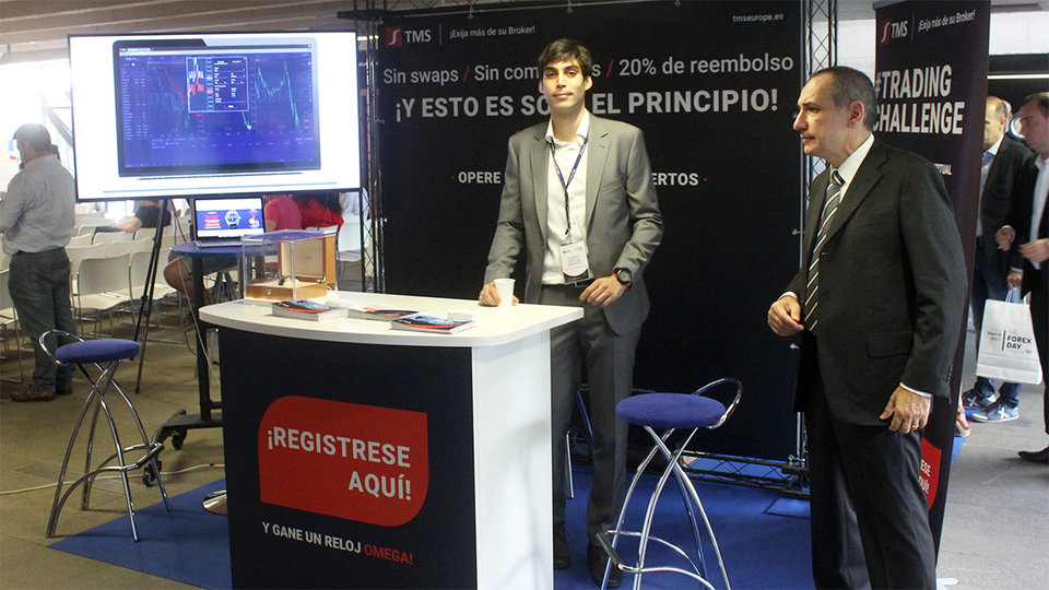 Andrea Unger, Alberto Sánchez Bernabéu at the spot of TMS Europe.