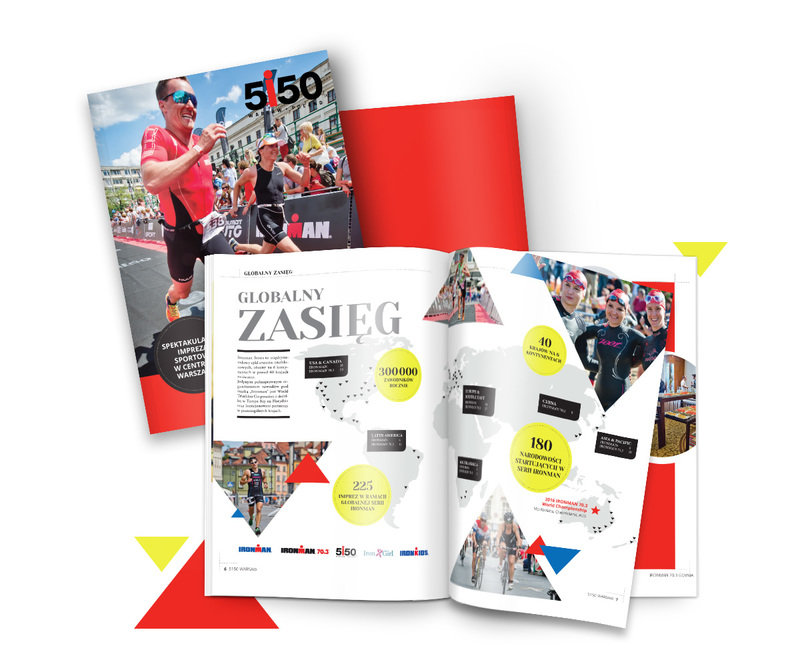 Three leading sport events were basic for new patronage kit we created.