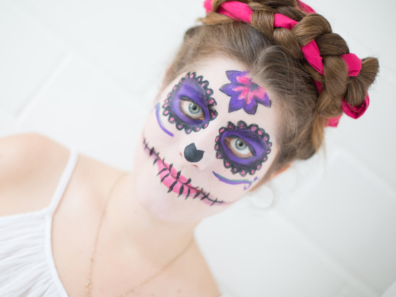 """Día de los Muertes""-Faschings-Make-up_DaWanda DIY with Love (14).jpg"