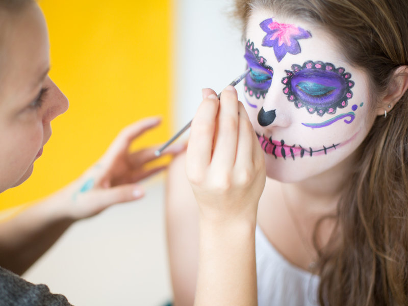 """Día de los Muertes""-Faschings-Make-up_DaWanda DIY with Love (9).jpg"