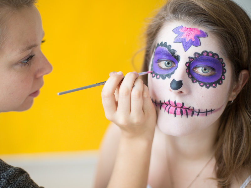 """Día de los Muertes""-Faschings-Make-up_DaWanda DIY with Love (8).jpg"