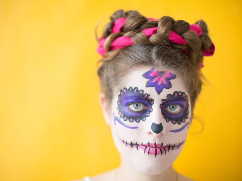 """Día de los Muertes""-Faschings-Make-up_DaWanda DIY with Love (13).jpg"