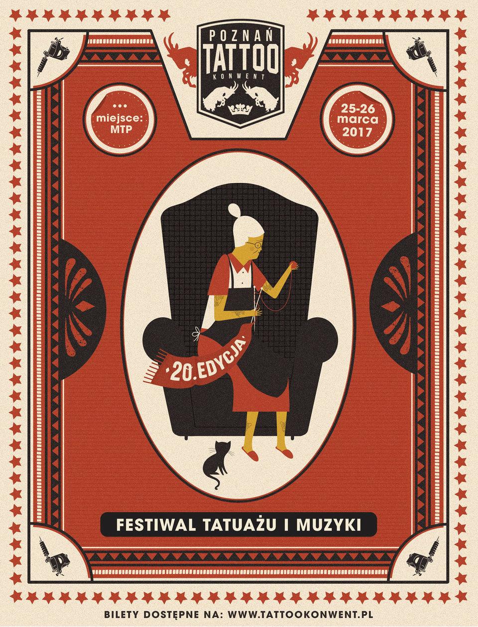 Poznań Tattoo Konwent 2017, Dawid Ryski