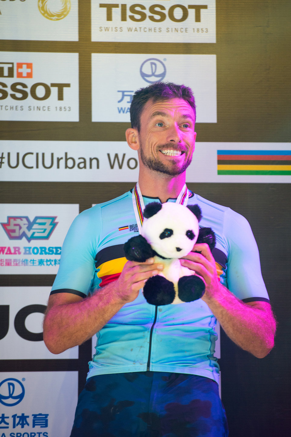 Kenny Belaey, bronze UCI Urban Cycling Trials World Championship