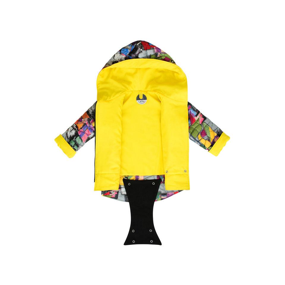 Pikowana kurteczka z patentem Mozaika: cena: 175 -185 zł