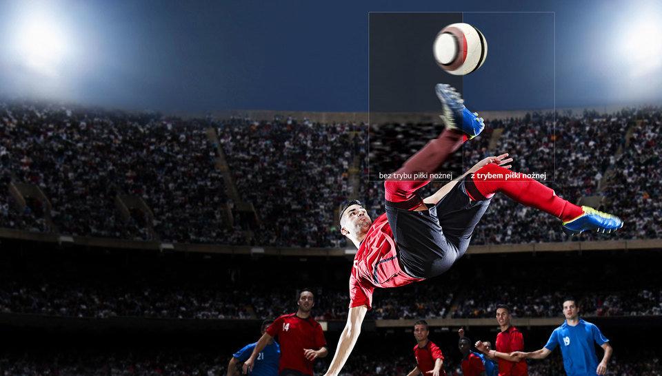 Tryb piłki nożnej w LG Super UHD 4K SK7900