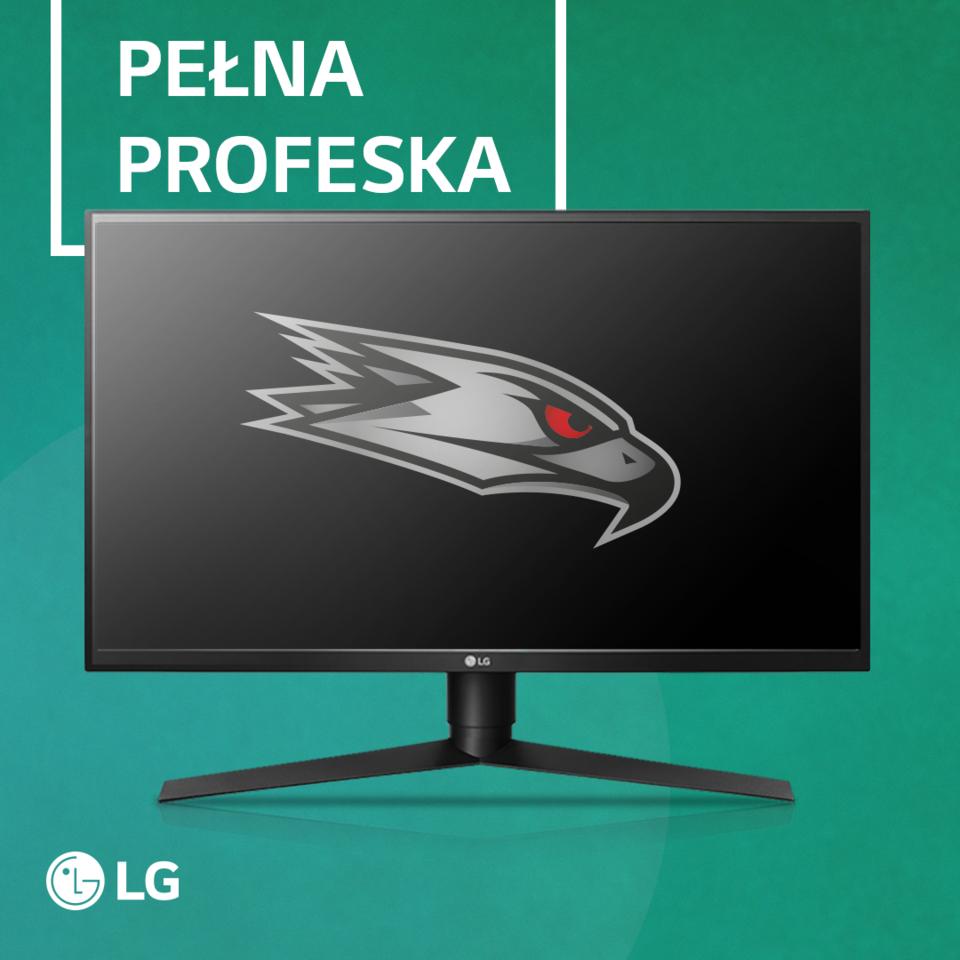 Wybór drużyny AGO Esports: monitor LG GK750F