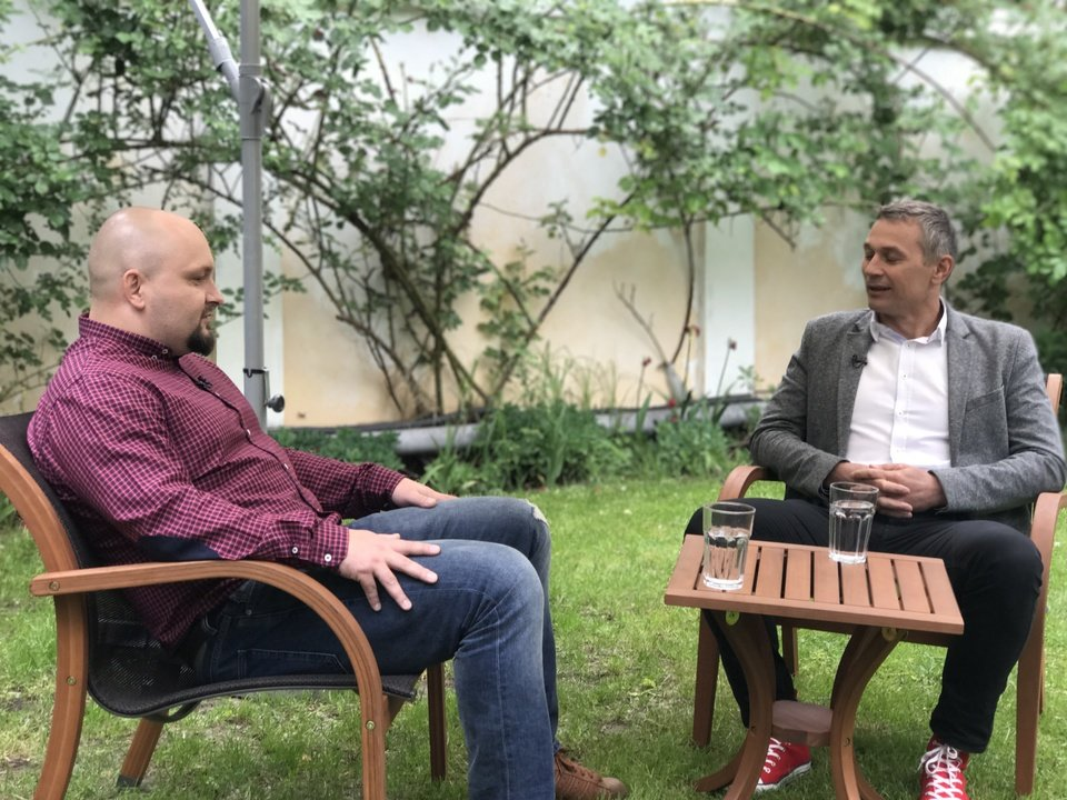 Na przykład takie, że w naszym ogrodzie gościliśmy Łukasza Grassa i ekipę Business Insider Polska