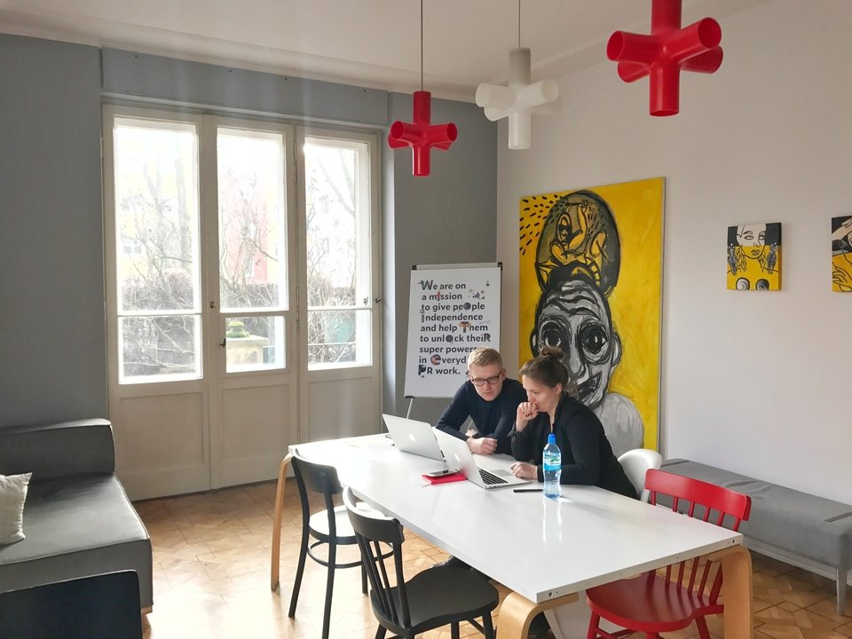Warszawskie biuro Prowly<br>