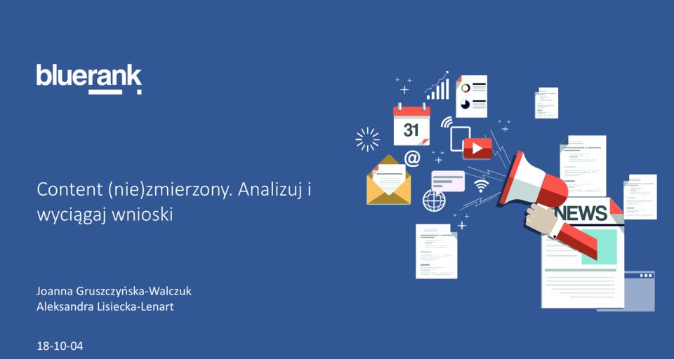 Prezentacja Joanny Gruszczynskiej-Walczuk i Aleksandry Lisieckiej-Lenart