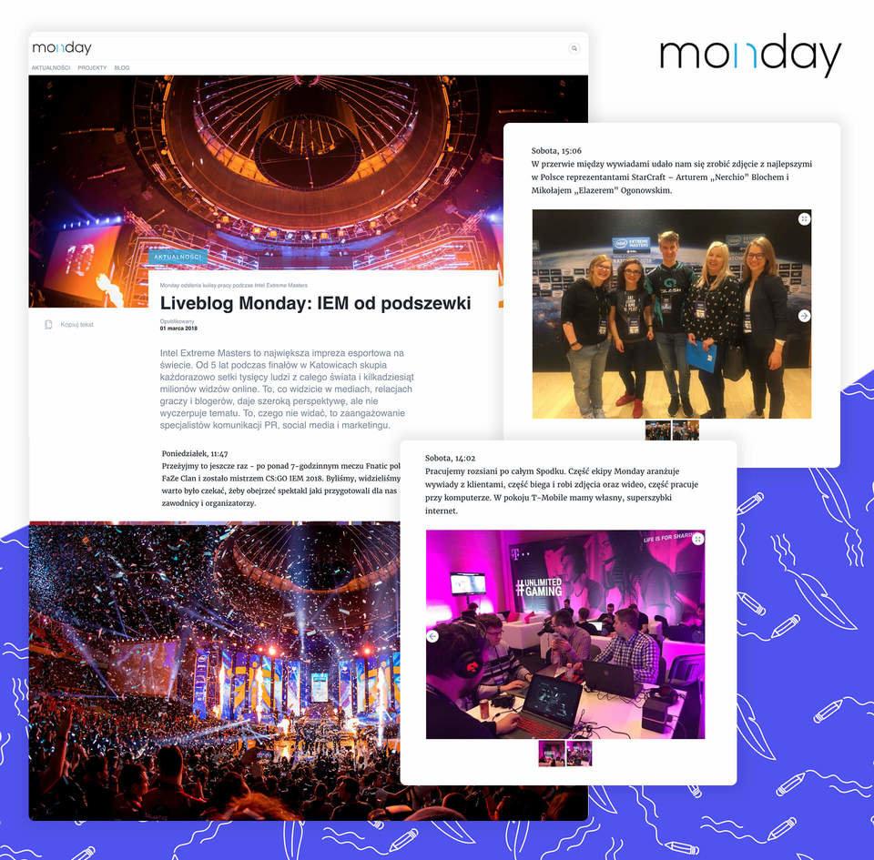 Liveblog Monday: IEM od podszewki