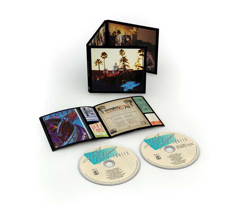 Eagles HC 40th Anniversary Expanded Edition 2 CD Product Shot.jpg