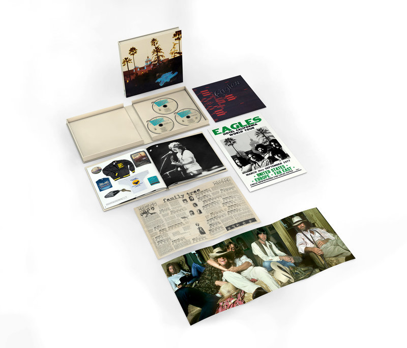 Eagles HC 40th Anniversary Deluxe Edition 2 CD + BRD Product Shot.jpg