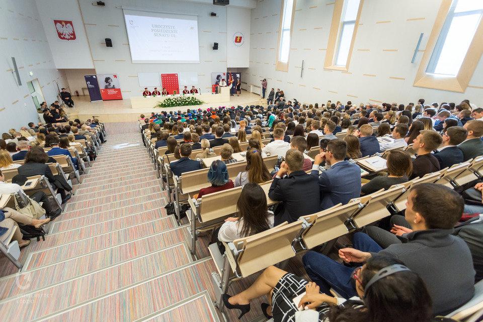 Inauguracja roku akademickiego 2017/2018 na UŁ, Wydział Filologiczny. (fot. M. Andrzejewski, UŁ)
