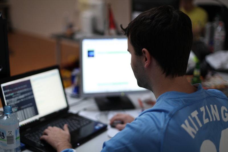 CEO Andreas Kitzing programming