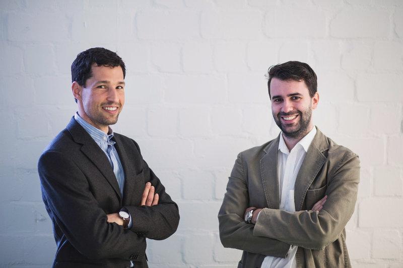 CTO Christian Kaspar and CEO Andreas Kitzing