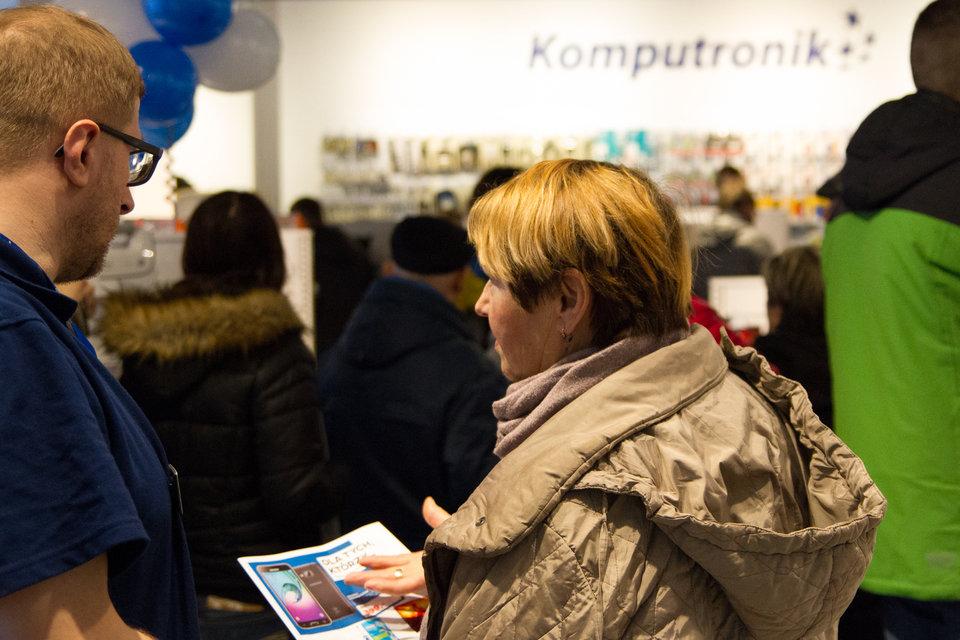 Otwarcie Komputronik w Gdańsku