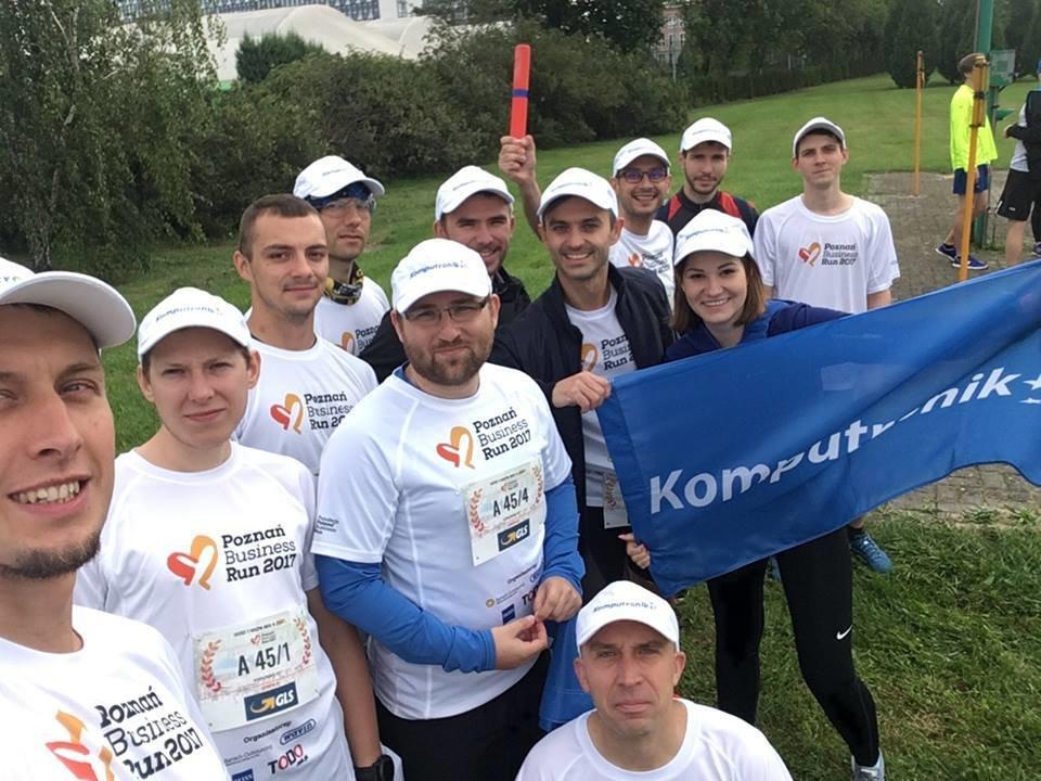 Zespół Komputronik na Poznań Business Run 2017