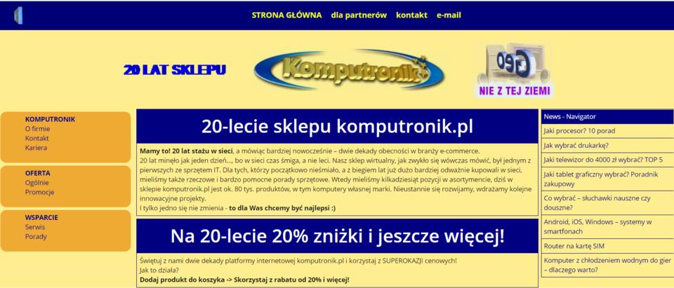 20 lat   Telefony i akcesoria   sklep Komputronik pl.png