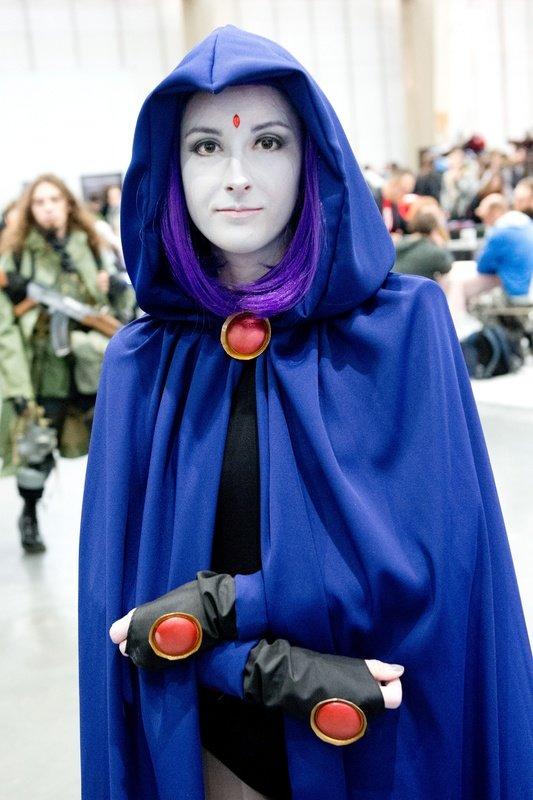 Raven (Teen Titans), fot. Marcin Pflanz.jpg
