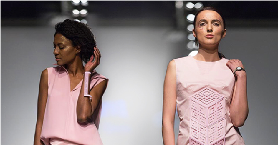 Macedonian fashion designer Irina Tosheva is not afraid to experiment with technology, particularly 3D printing.