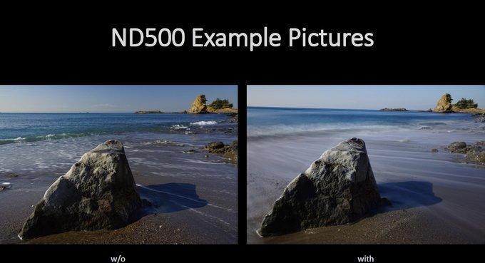 Przykładowe zdjęcia z/bez filtra Marumi DHG Super 500