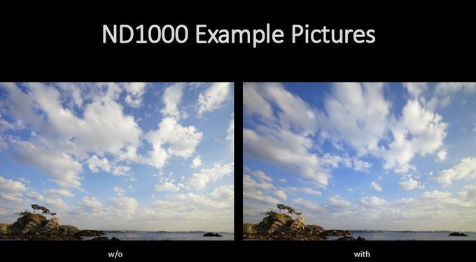Przykładowe zdjęcia z/bez filtra Marumi DHG Super 1000 (3.0)